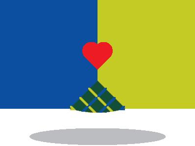 Hands & Heart Symbol